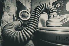 Gas masks 4 Royalty Free Stock Images