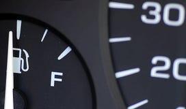Gas-Meilenzahl Lizenzfreies Stockbild