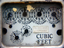 Gas meter Stock Images