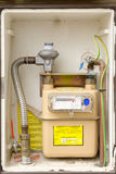 Gas meter installation Stock Images