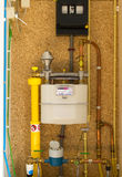 Gas meter Royalty Free Stock Images