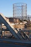 Gasômetro em Roma Fotografia de Stock