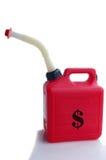 Gas money Royalty Free Stock Photo