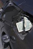Gas money Stock Photography