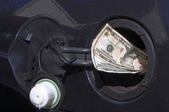 Free Gas Money Royalty Free Stock Photography - 3285787