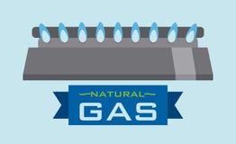 Gas natural design Stock Image