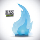 Gas natural design Stock Images