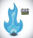 Gas natural design Royalty Free Stock Photo