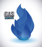 Gas natural design Royalty Free Stock Images