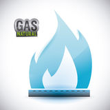 Gas natural design Royalty Free Stock Image