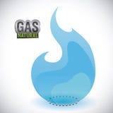 Gas natural design Royalty Free Stock Photos