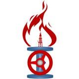 Gas natural industry-1 Foto de archivo libre de regalías
