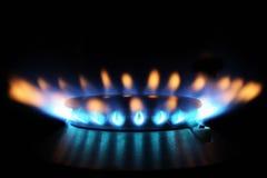 Gas naturale Fotografie Stock