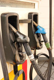 Gas nozzle Stock Photography