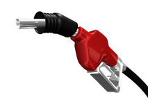 Gas nozzle pointing up Stock Photos