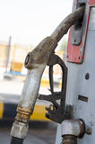 Gas nozzle. Standing in place Royalty Free Stock Photography