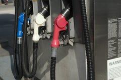 Gas Nozzles Royalty Free Stock Photo