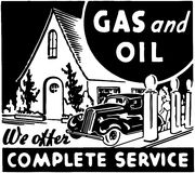 Gas And Oil 2 Royalty Free Stock Photography