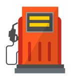 Gas oil station icon vector. Gas oil station icon energy service benzene transportation sign. Illustration gas oil station icon on white background. Petrol vector illustration