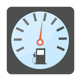 Gas oil station icon vector. Stock Photo