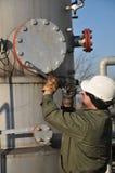 Gas operator Royalty Free Stock Image