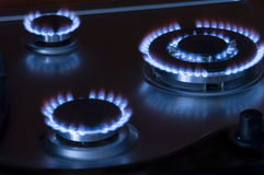 Gas oven Royalty Free Stock Image
