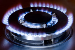 Gas oven Stock Photos