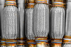 Gas Particles Filter. Gases Particles Filter Used In Automotive Industry Stock Image