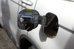 Gas petrol filling station Stock Images