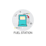Gas Petrol Fuel Station Automobile Service Icon Stock Photos