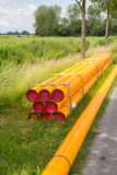 Gas pipe Royalty Free Stock Photography