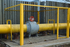 Gas pipe Stock Photography