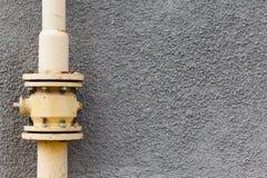 Gas pipe wall Stock Photos
