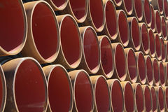 Gas pipeline elements stock photography