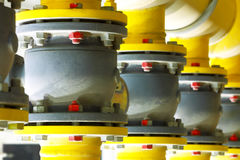 Gas pipeline.Industrial business. Stock Photography