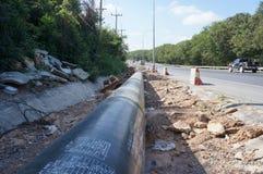 Gas Pipeline Stock Photo