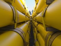 Gas_pipes-02 Stock Photos