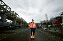 Gas plant Stock Image