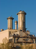 Gas plant Royalty Free Stock Photography