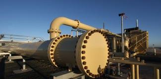 Gas Plant Royalty Free Stock Photos