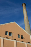 Gas plant tower Stock Photos