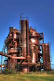 Gas plant unit Royalty Free Stock Image