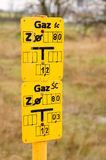 Gas point Stock Photo