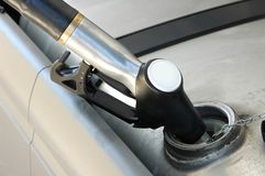Gas Pouring Royalty Free Stock Images