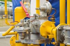 Gas pressure regulator Royalty Free Stock Image