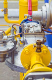 Gas pressure regulator Stock Photo
