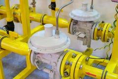 Gas pressure regulator Stock Photos