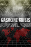 Gas price crisis stock illustration