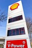 Gas Price Totem Royalty Free Stock Image