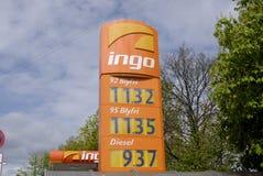 GAS PRICES Stock Photos